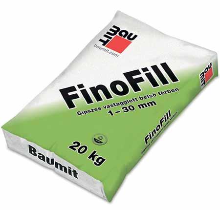 Baumit FinoFill glettvakolat 1-30 mm