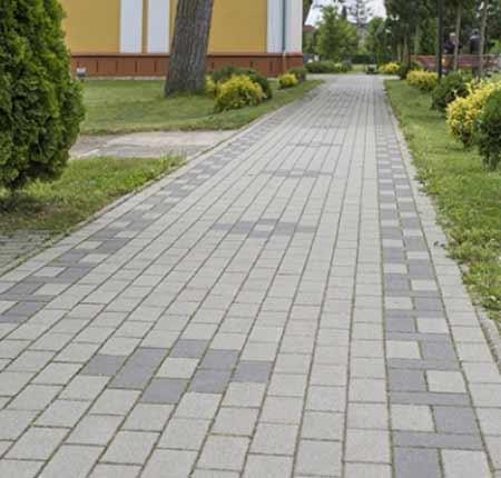 Leier Piazza Térkő szürke 10x20 cm 6 cm