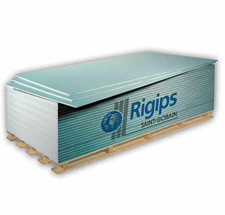 Rigips RBI impregnált gipszkarton 12,5mm