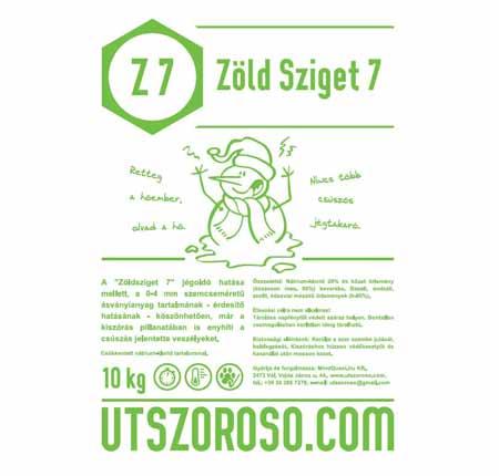 Zöldsziget7 útszóró anyag 10 kg-os